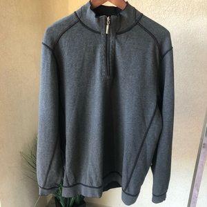 NWT Tommy Bahama Half Zip Sweatshirt